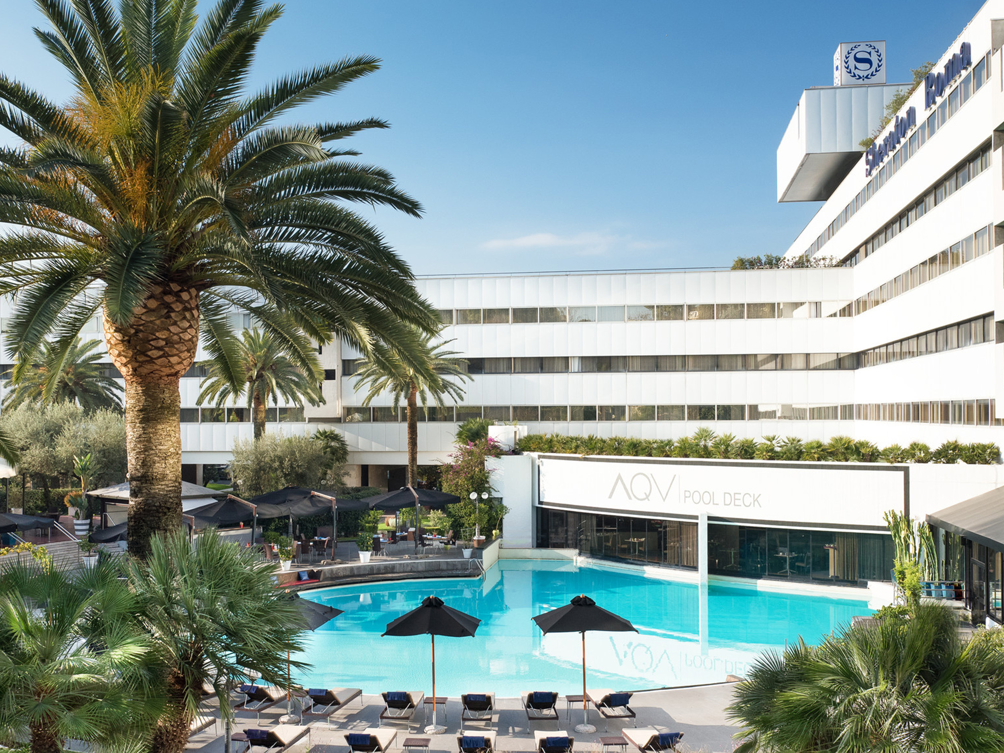 Sheraton Roma Hotel & Conference Center, Official website