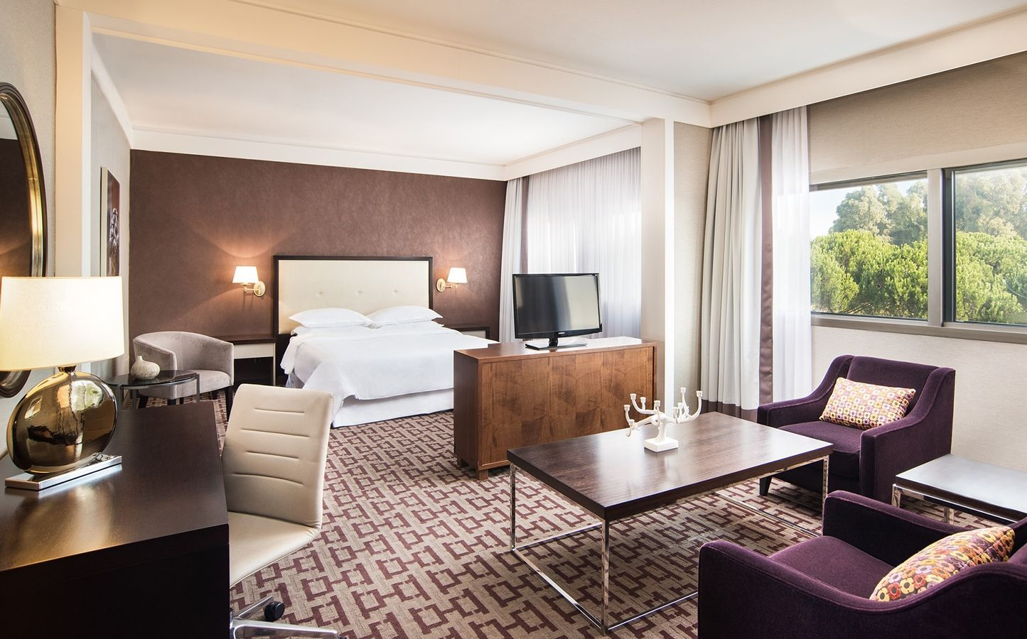 Suite Presidencial, Sheraton Roma Hotel & Conference Center